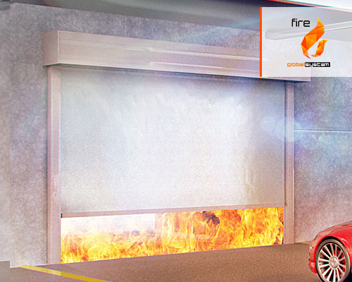 Gates fire curtains
